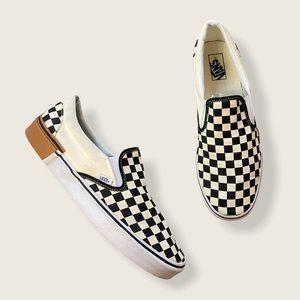 Vans Adult Unisex Checkerboard Slip-On Gum Block